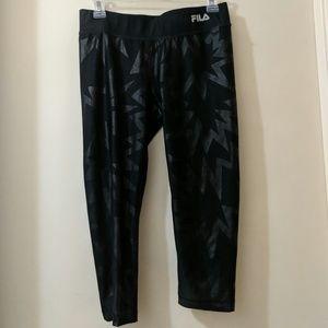 Fila 3/4 stretch running pants